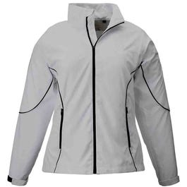 Page & Tuttle Lds Free Swing Peached Windbreaker