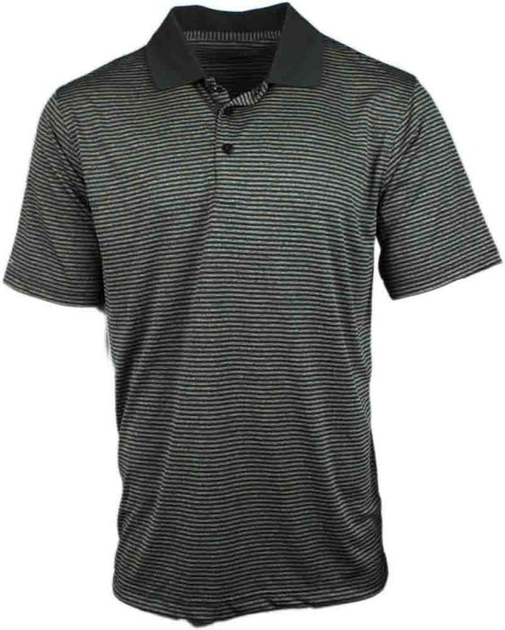 Heather Stripe Polo