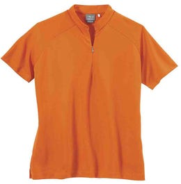 Dot Texture Jersey Polo