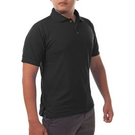 Solid Jersey Short Sleeve Polo