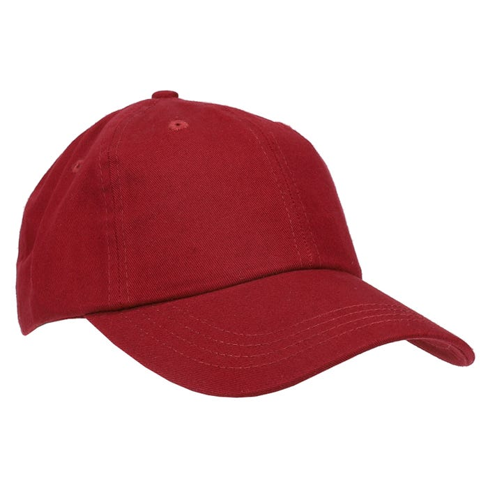 Solid Washed Twill Cap
