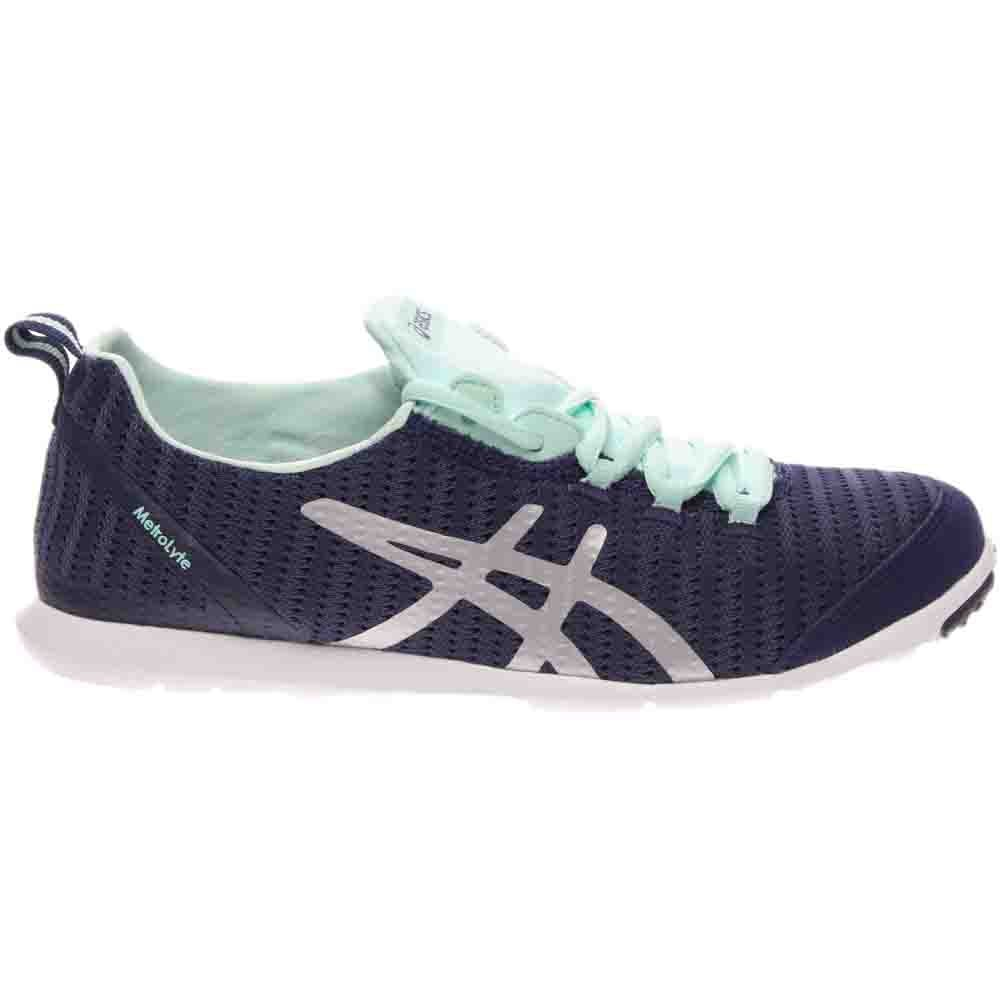 e9c8019eed22 Details about ASICS Metrolyte Walking Shoes Navy - Womens - Size 5.5 B