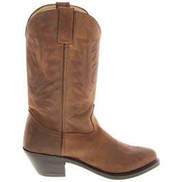 Womens Tan 11 in Western Boot