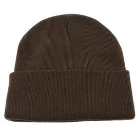 12 inch Cuffed Knit Cap