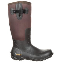 Core Brown Rubber Waterproof Outdoor Boot
