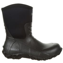 Core Chore Black Rubber Outdoor Boot