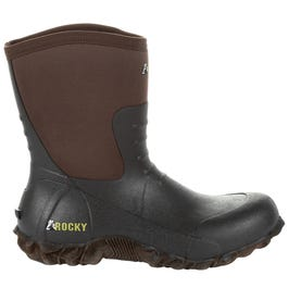Core Chore Brown Rubber Outdoor Boot