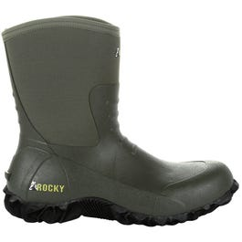 Core Chore Olive Rubber Outdoor Boot