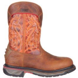 Iron Skull Western Boot