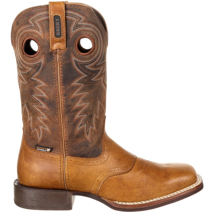 Dakota Ridge Waterproof Pull-On Western Boot