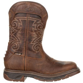 Iron Skull Waterproof Western Boot