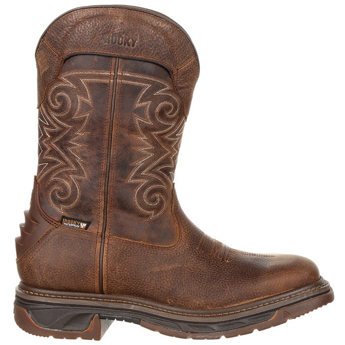 Iron Skull Waterproof Western Boot