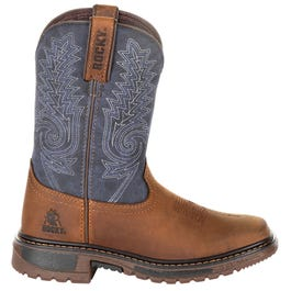 Rocky Kids Ride Flex 8 Inch Western Boot