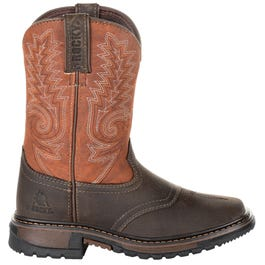 Kids Ride Flex 8 Inch Western Boot