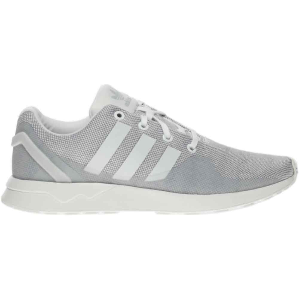 f6cf0d8855470 Details about adidas ZX Flux Adv Tech Running Shoes - Grey White - Mens