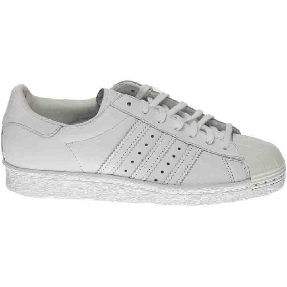 Details about adidas Superstar 80S Metal Toe Sneakers - White - Womens b4458379a5106