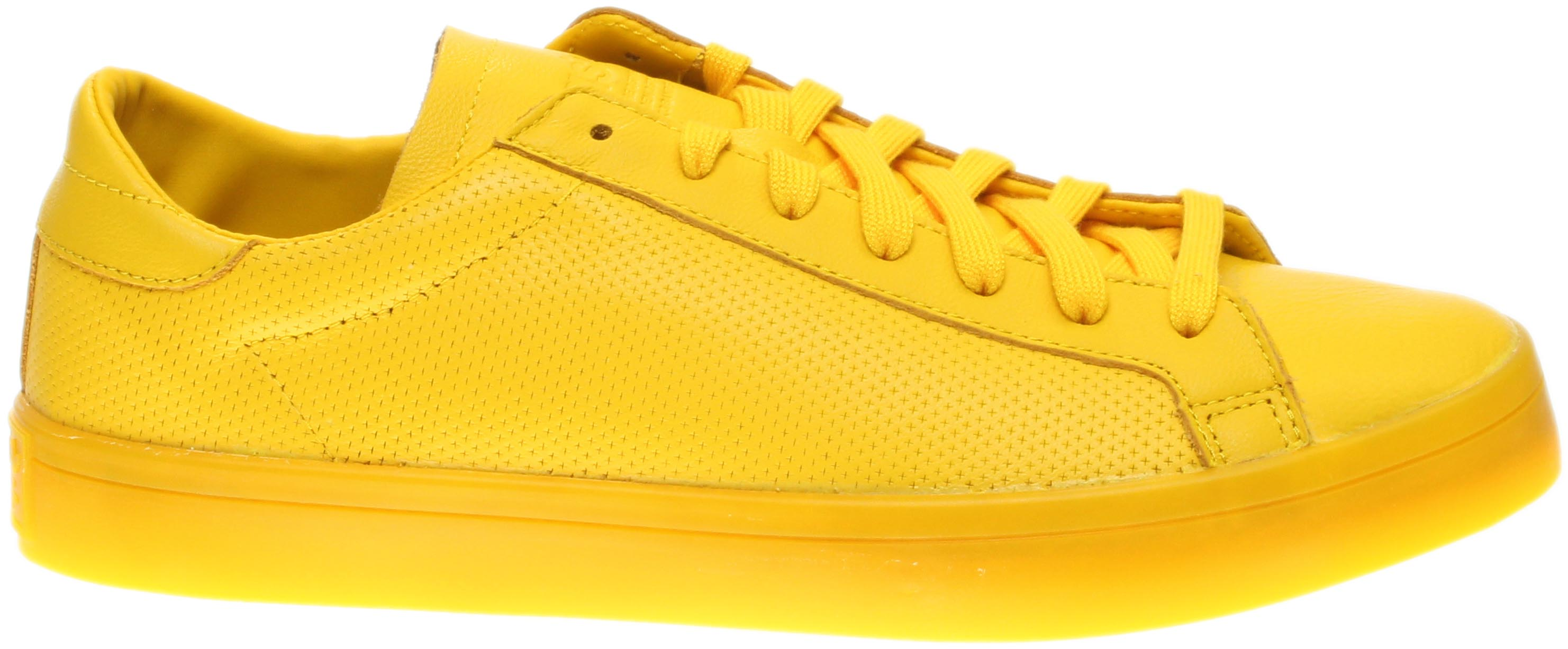 low priced 2b97d 90e9f adidas CourtVantage Adicolor Sneakers Yellow - Mens - Size 4 D