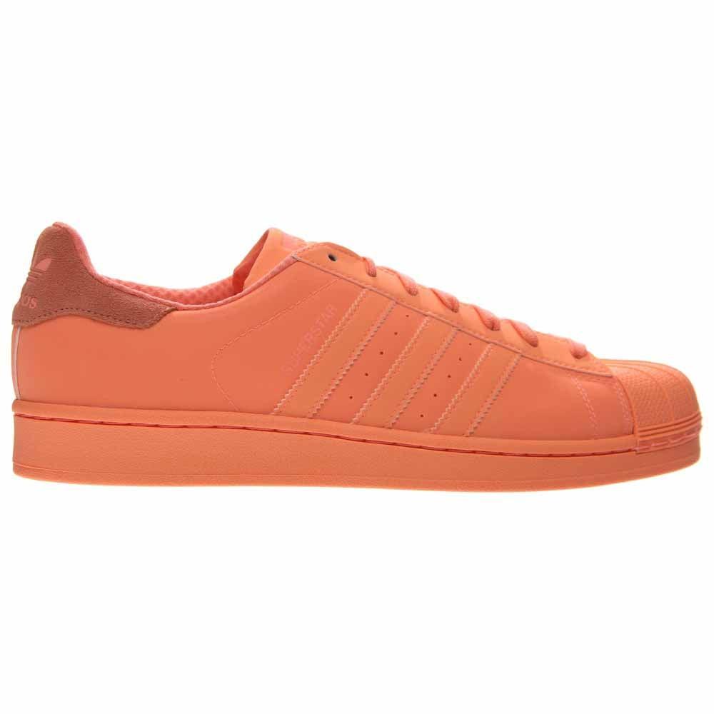 adidas Superstar Adicolor Orange - Mens  - Size 4