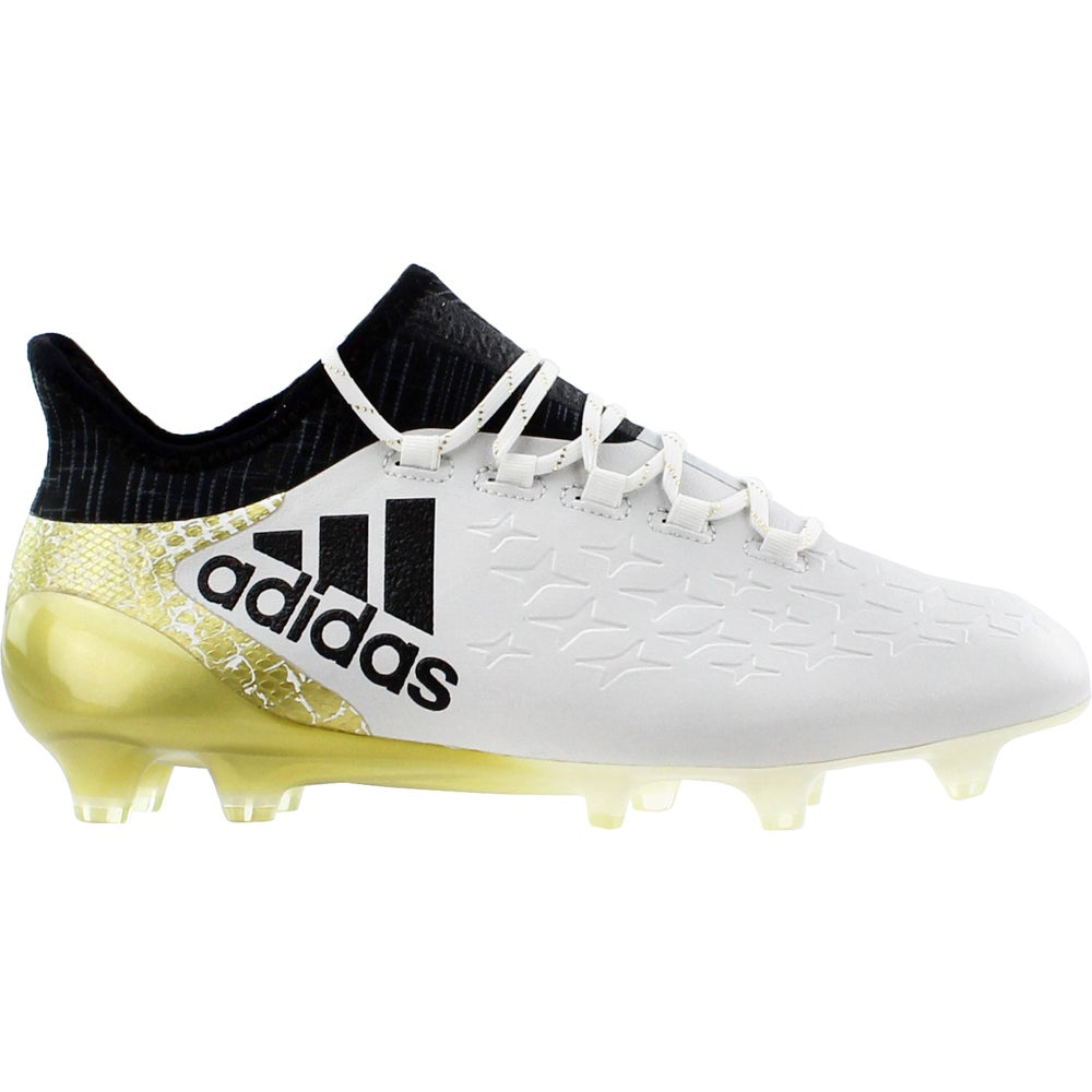 9083006a5e Details about adidas X 16.1 FG Soccer Cleats White - Mens - Size 6.5 D