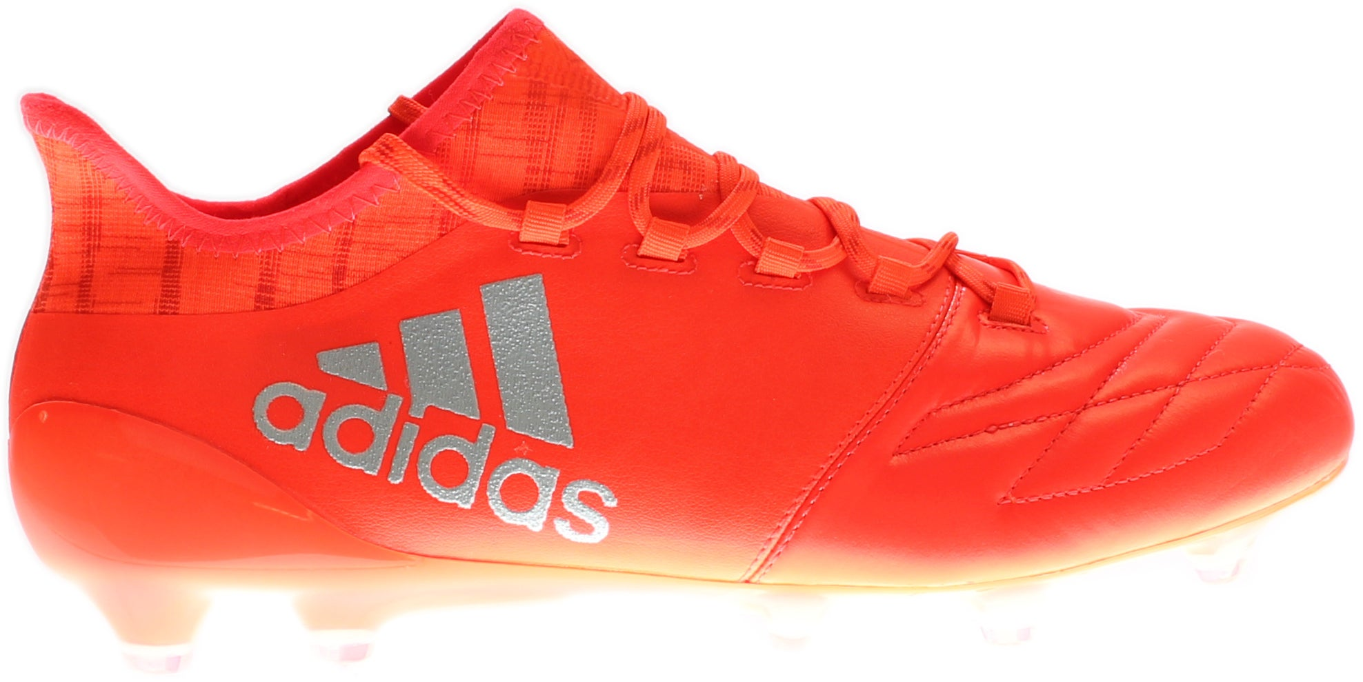adidas X 16.1 FG Leather Orange;Red - Mens  - Size 6.5