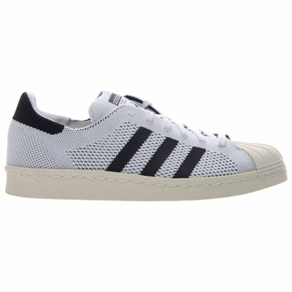 2bae8963124 Details about adidas Superstar 80S Primeknit Sneakers White - Mens - Size  11.5 D
