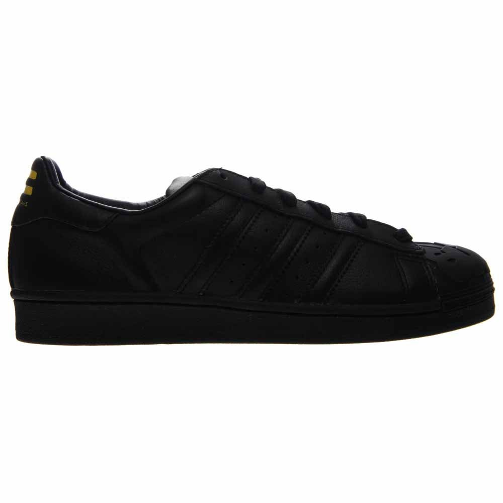 brand new 83532 756e6 Details about adidas Superstar Pharrell Supershell Sneakers - Black - Mens