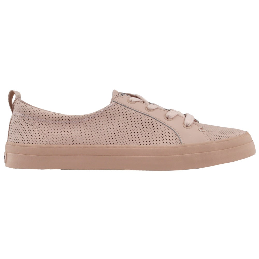 Sperry Crest Vibe Mini Perf Pink Womens