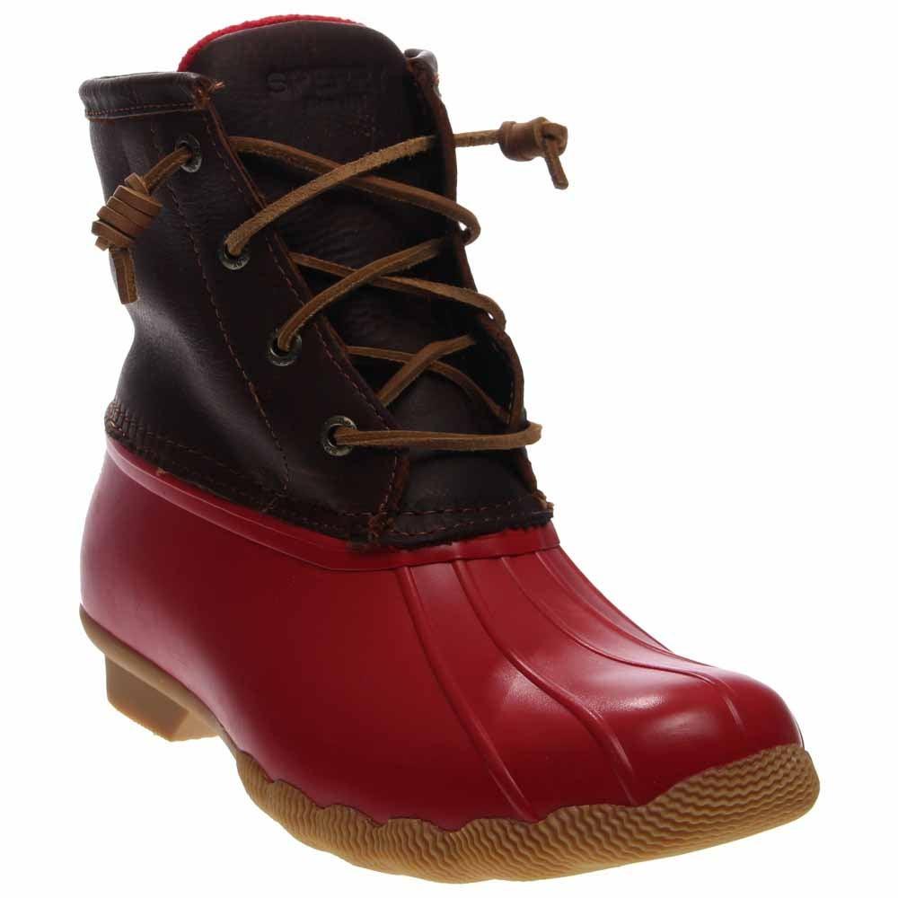 Sperry Saltwater Duck Boot Tan Womens Rain Boots-6789