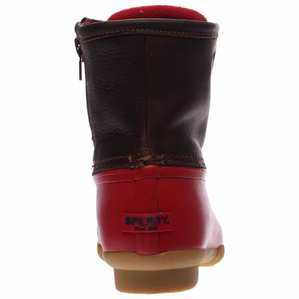 Sperry Saltwater Duck Boot Tan Womens Rain Boots-6424