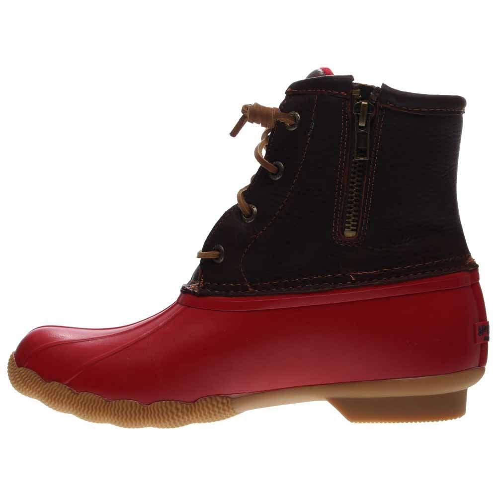 Sperry Saltwater Duck Boot Tan Womens Rain Boots-3762