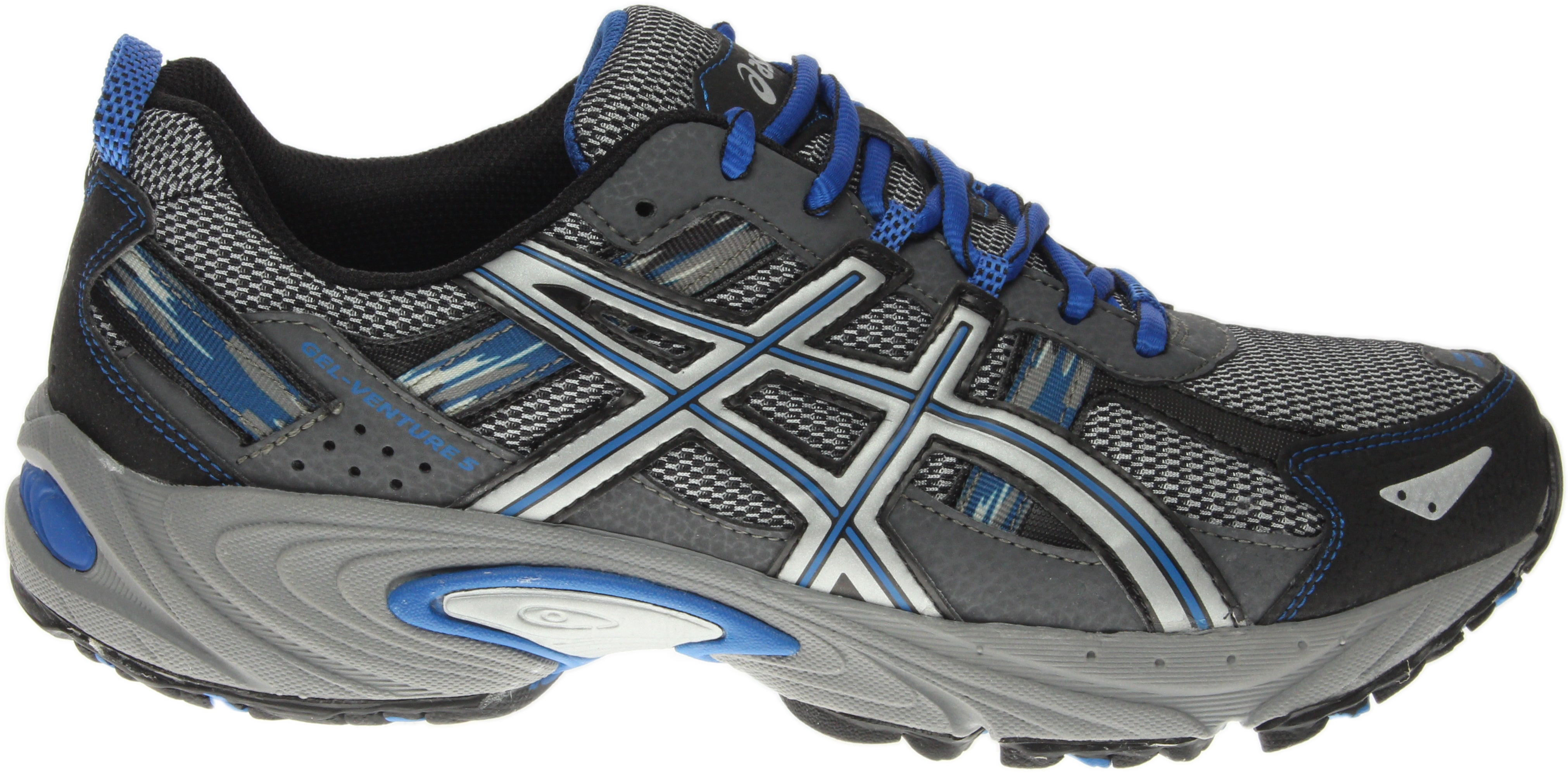 ASICS GEL-Venture 5 Running Shoes - Grey - Mens  a3dd690df6089