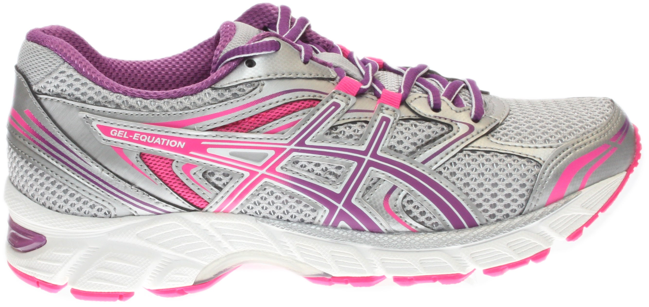 3b156bb2b0f ASICS GEL-Equation 8 Running Shoes Silver - Womens - Size 5 D
