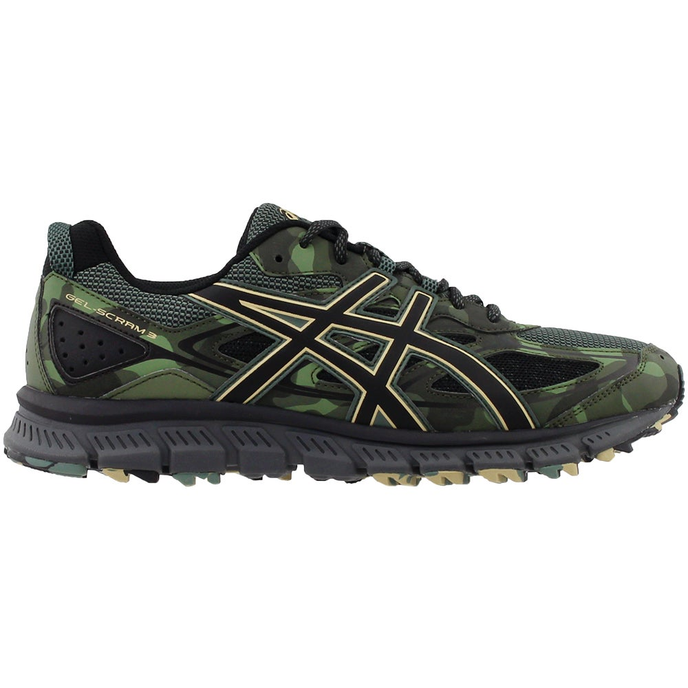2a5909635ba Details about ASICS Gel-Scram 3 Trail Running Shoes - Green - Mens