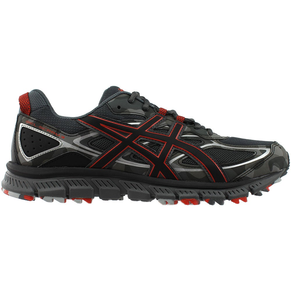 e2031b1c7d98 Details about ASICS GEL-Scram 3 Trail Running Shoes Grey - Mens - Size 8 D