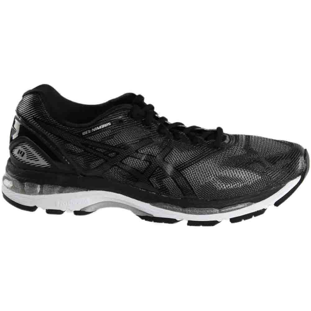 online store 3ed2a 76569 Details about ASICS Gel-Nimbus 19 Running Shoes - Black - Mens