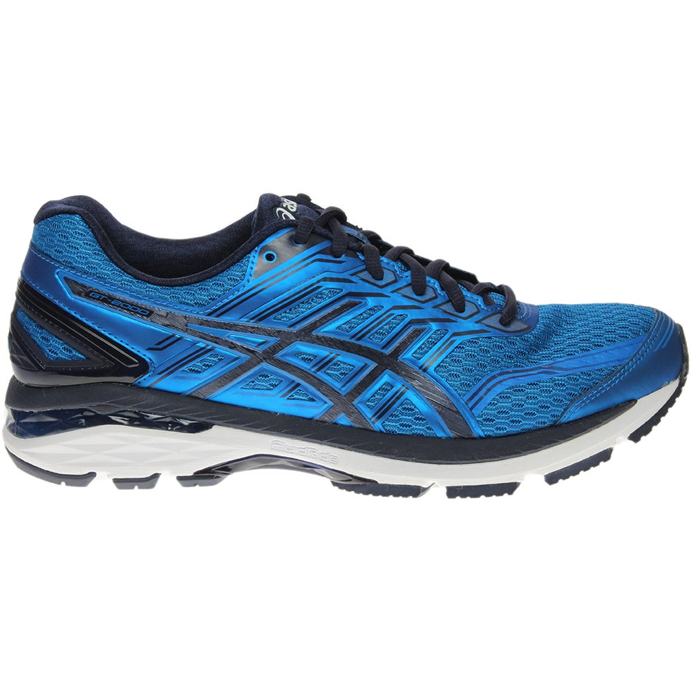 outlet store f45c5 2f9fa Details about ASICS GT-2000 5 Athletic Running Stability Shoes - Blue - Mens