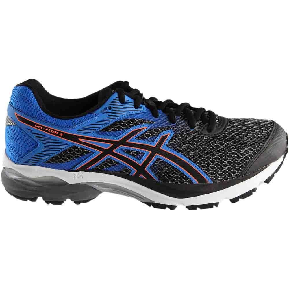db20b86a6c3 Details about ASICS Gel-Flux 4 Running Shoes - Black Blue - Mens