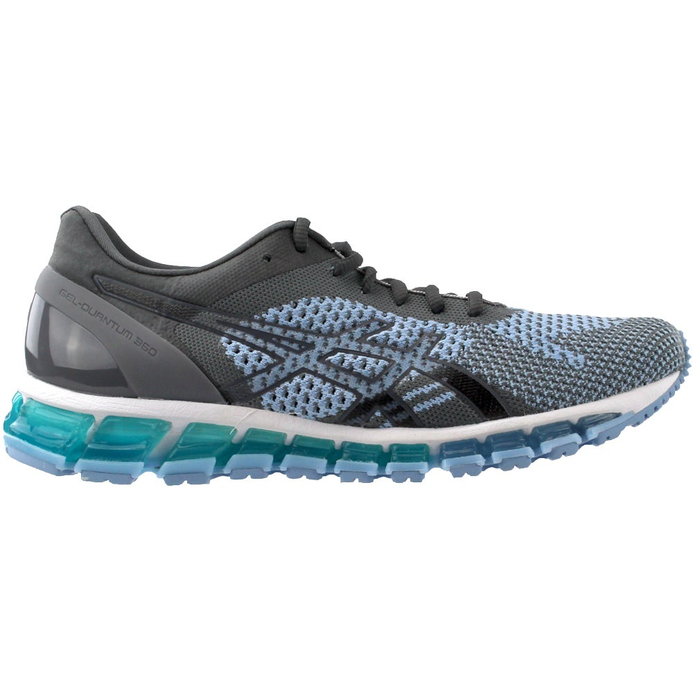 71bdee4695 Details about ASICS GEL-Quantum 360 Knit Running Shoes - Blue Grey - Womens