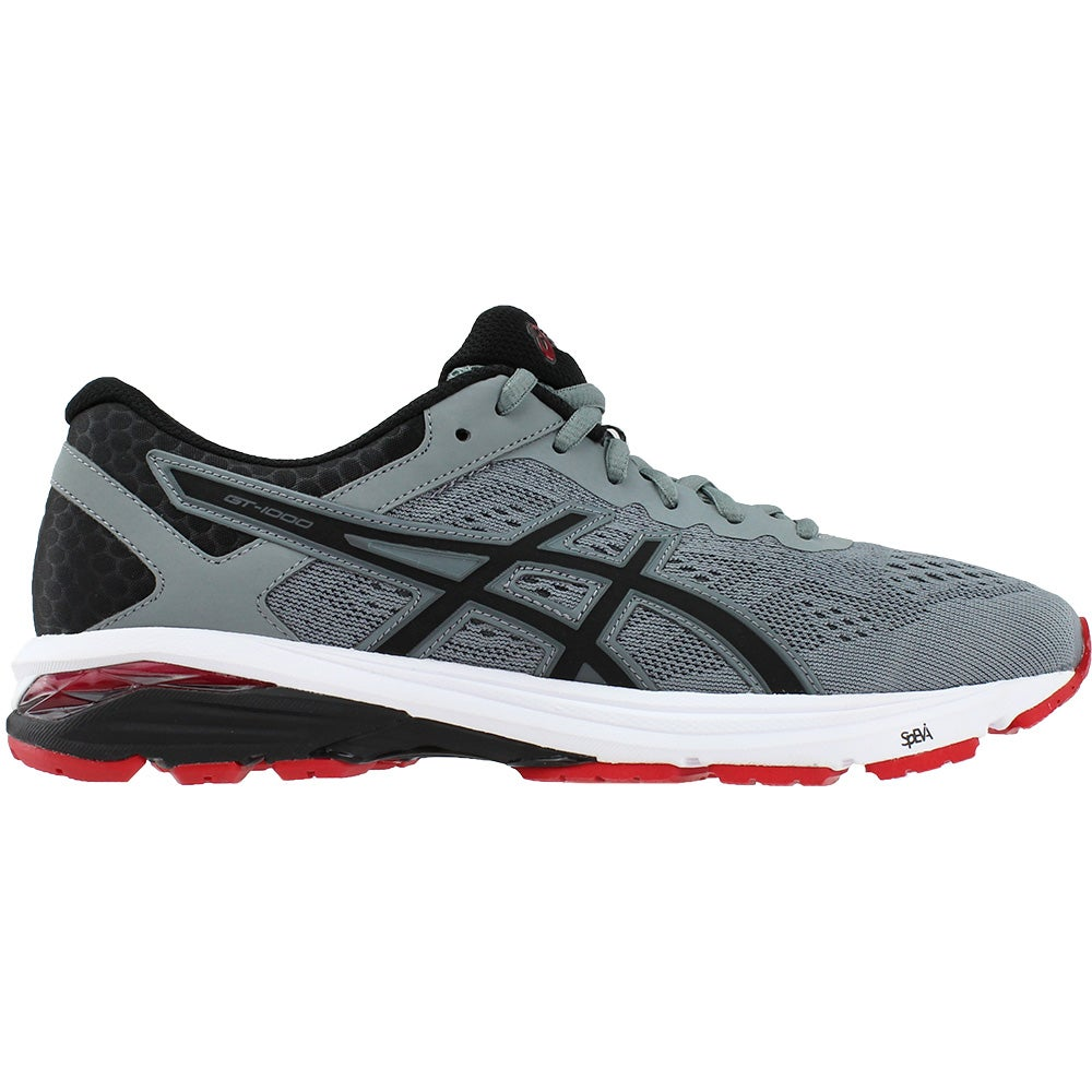 lowest price 50cd7 d7a0b Details about ASICS GT-1000 6 Athletic Running Motion Control Shoes - Grey  - Mens