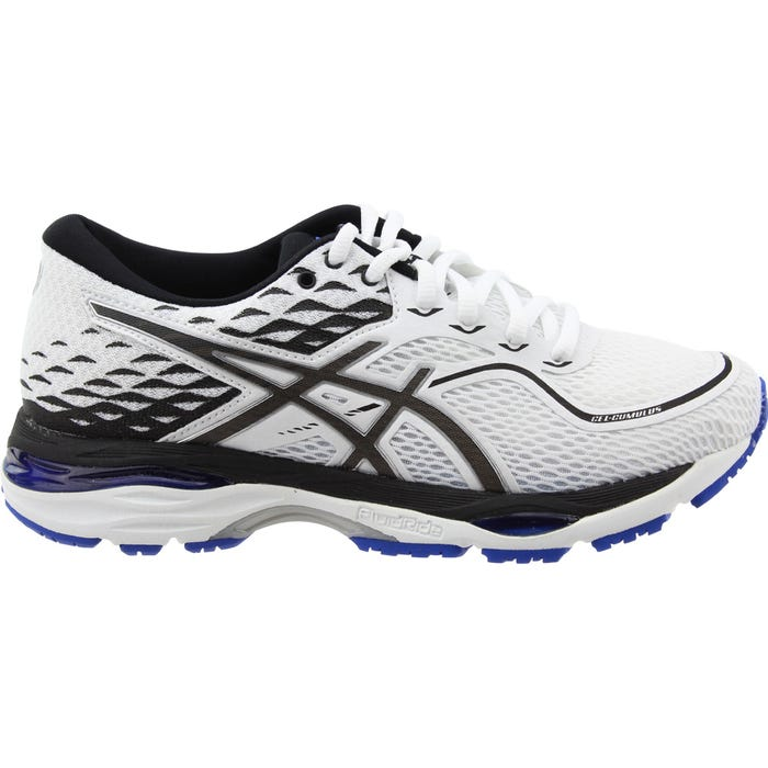 Muy enojado mientras mostrador  ASICS GEL-Cumulus 19 White Womens Lace Up Athletic
