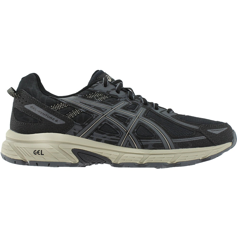 4aeb99dd2c5f Image is loading ASICS-GEL-Venture-6-Trail-Running-Shoes-Black-