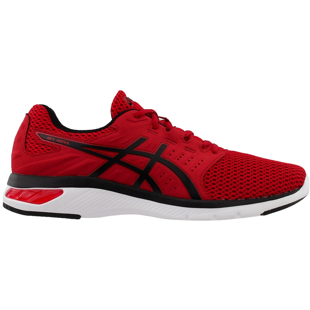 Details about ASICS Gel Moya Athletic Running Neutral Shoes Red Mens
