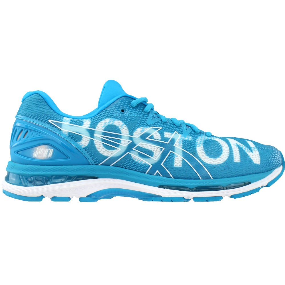 2f21f6557ce95 Details about ASICS GEL-Nimbus 20 Boston Running Shoes - Blue - Mens