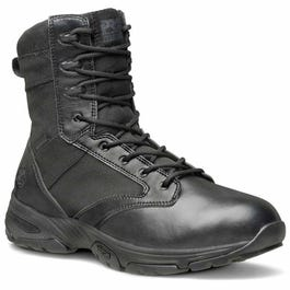 Timberland Pro Valor 8in Soft Toe Waterproof Side Zip Black Tactical Boots  and free shipping on orders more than  75 4889a55030ce
