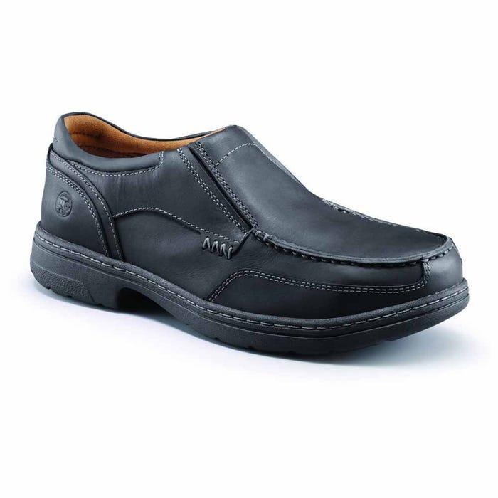 1f41ad6c0f1 Timberland Pro Branston Moc Toe ESD Alloy Toe Black Slip-On Work ...