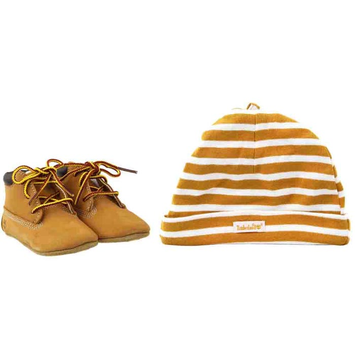 Crib Booties With Hat