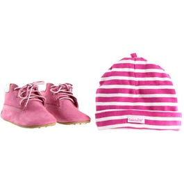 Crib Bootie With Hat