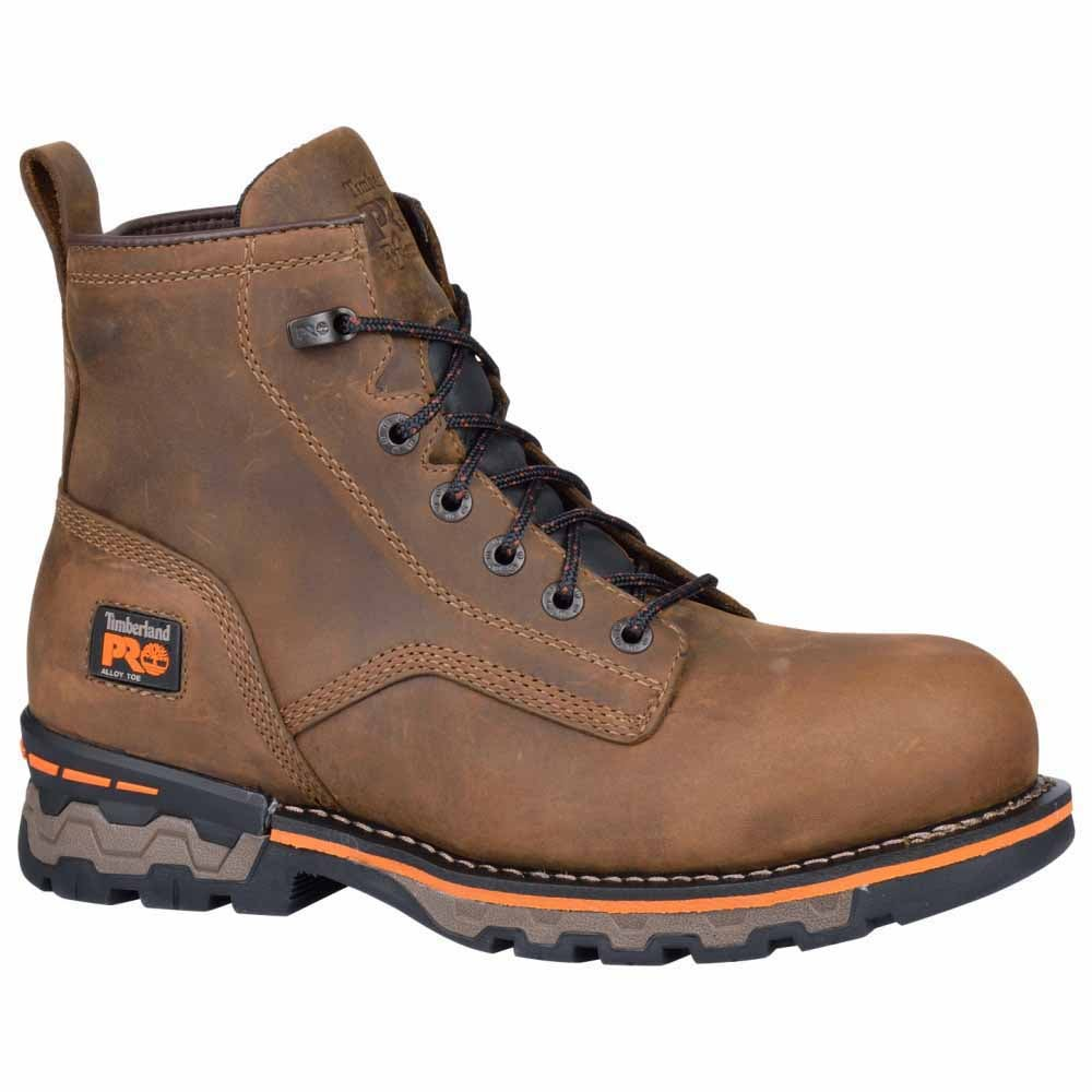 Timberland Pro 6 In Ag Boss AL Brown - Mens  - Size 8.5