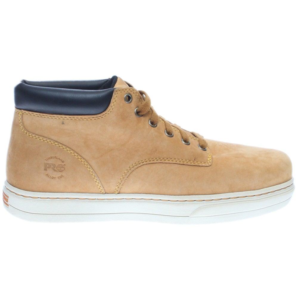 Timberland Pro TB0A1BAK231 Disruptor Chukka Alloy Safety Toe Wheat Work Shoes