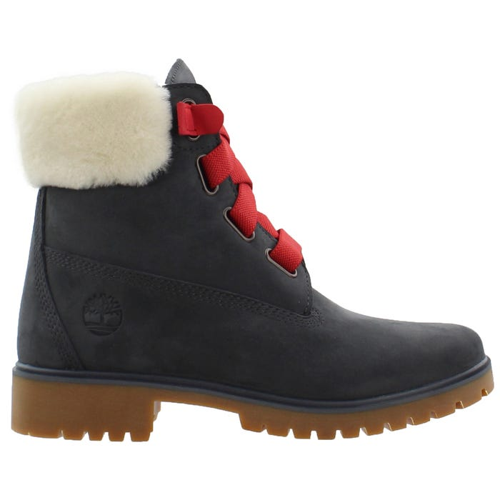 Jayne Shearling Collar Boots